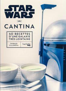 Cadeaux Star Wars livre recette geek cuisine