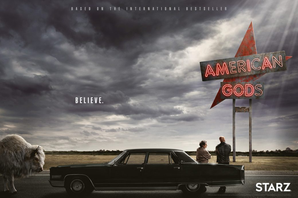 12 samedi séries American Gods