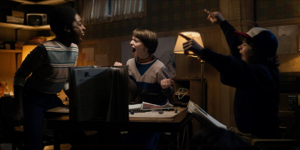 Role play sur forum - Illu stranger things