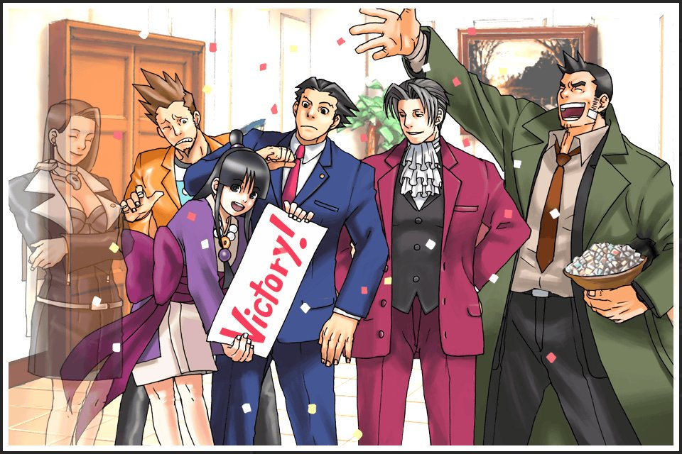 Jeux DS - Ace attorney 2