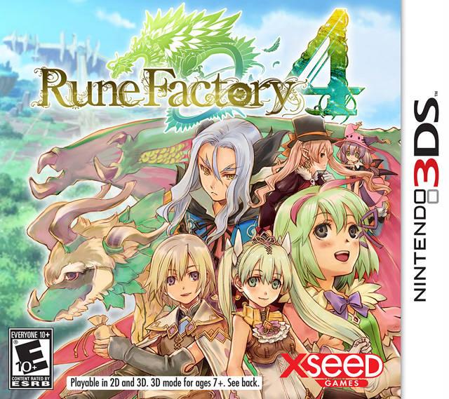 Jeux DS - Rune Factory