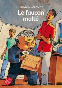 Le faucon malté - livres d'enfances